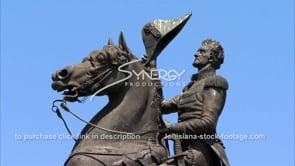 240 CU Andrew Jackson Statue Jackson Square New Orleans french quarter