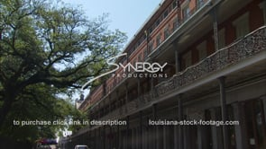 241 Static of french quarter wrought iron and architecture