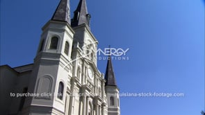 242 MS St Louis cathedral in New Orleans french quarter
