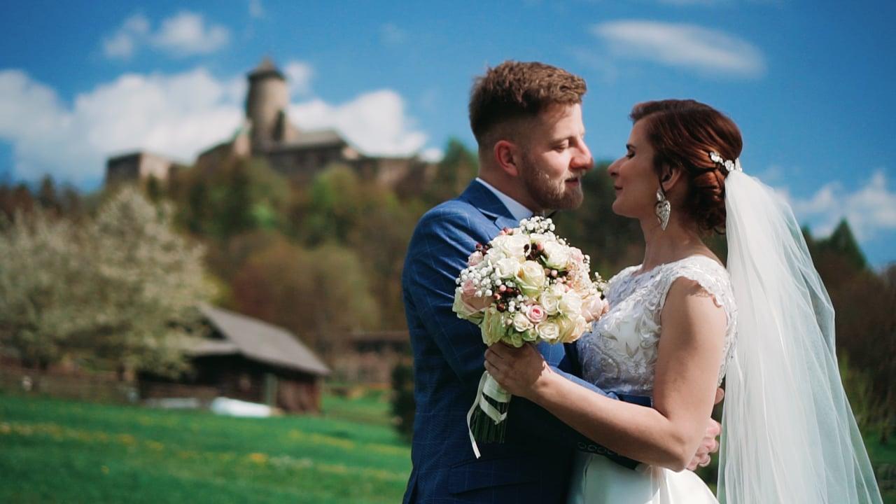 Ivana a Matúš svadobný videoklip