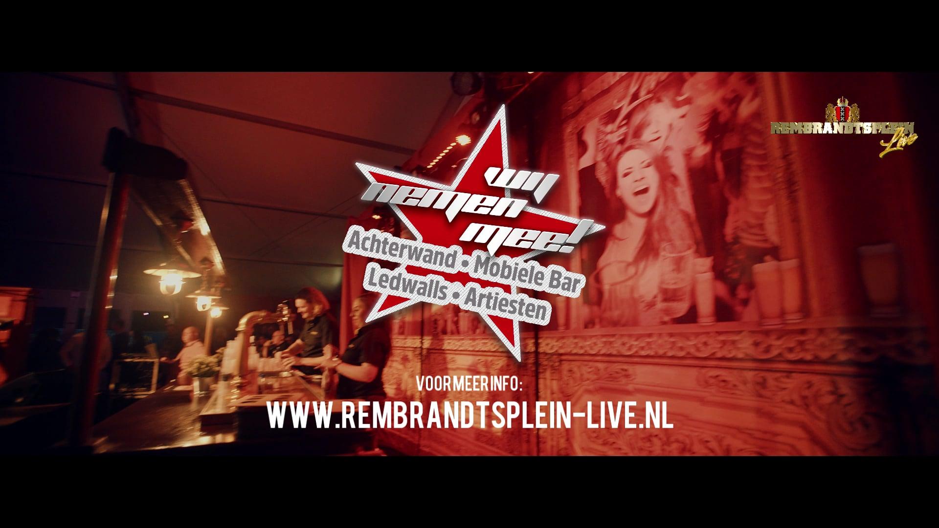 Rembrandtsplein Live