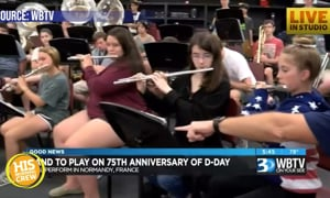 Local High School Band Heading to France for D-Day Celebration