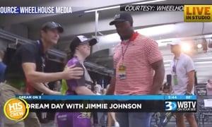 Local Teen's VIP NASCAR Dream Comes True