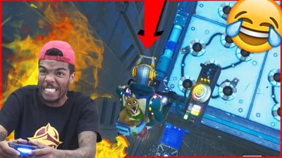 The RAGE Is Real! A Trash Fortnite Player Trys Trent's Parkour Map!