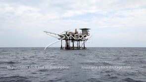 461 static decommissioned oil gas platform wide shot gulf of mexico