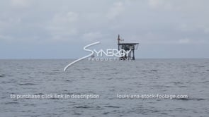 455 oil gas platforms wide shot
