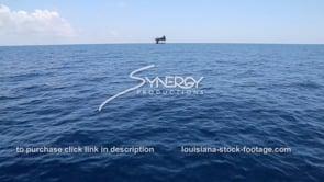451 oil gas platform in blue water xws