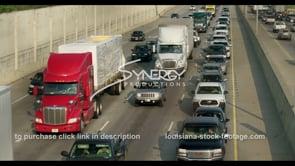427 interstate 10 traffic stock video