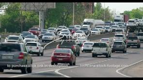 422 Epic traffic jam in baton rouge louisiana stock footage video interstate 10 traffic
