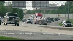 418 Interstate 10 I-10 time lapse Baton Rouge Louisiana stock footage video