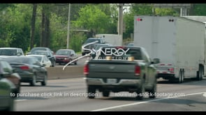 415 Baton Rouge Traffic close up stock video footage