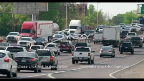 413 Baton Rouge Interstate 10 rush hour traffic timelapse