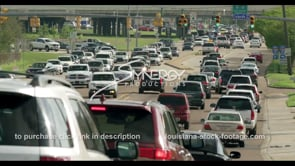 405 Epic Baton Rouge College Dr traffic timelapse stock footage video
