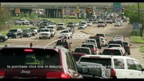 404 Epic Baton Rouge College Dr traffic timelapse stock video footage