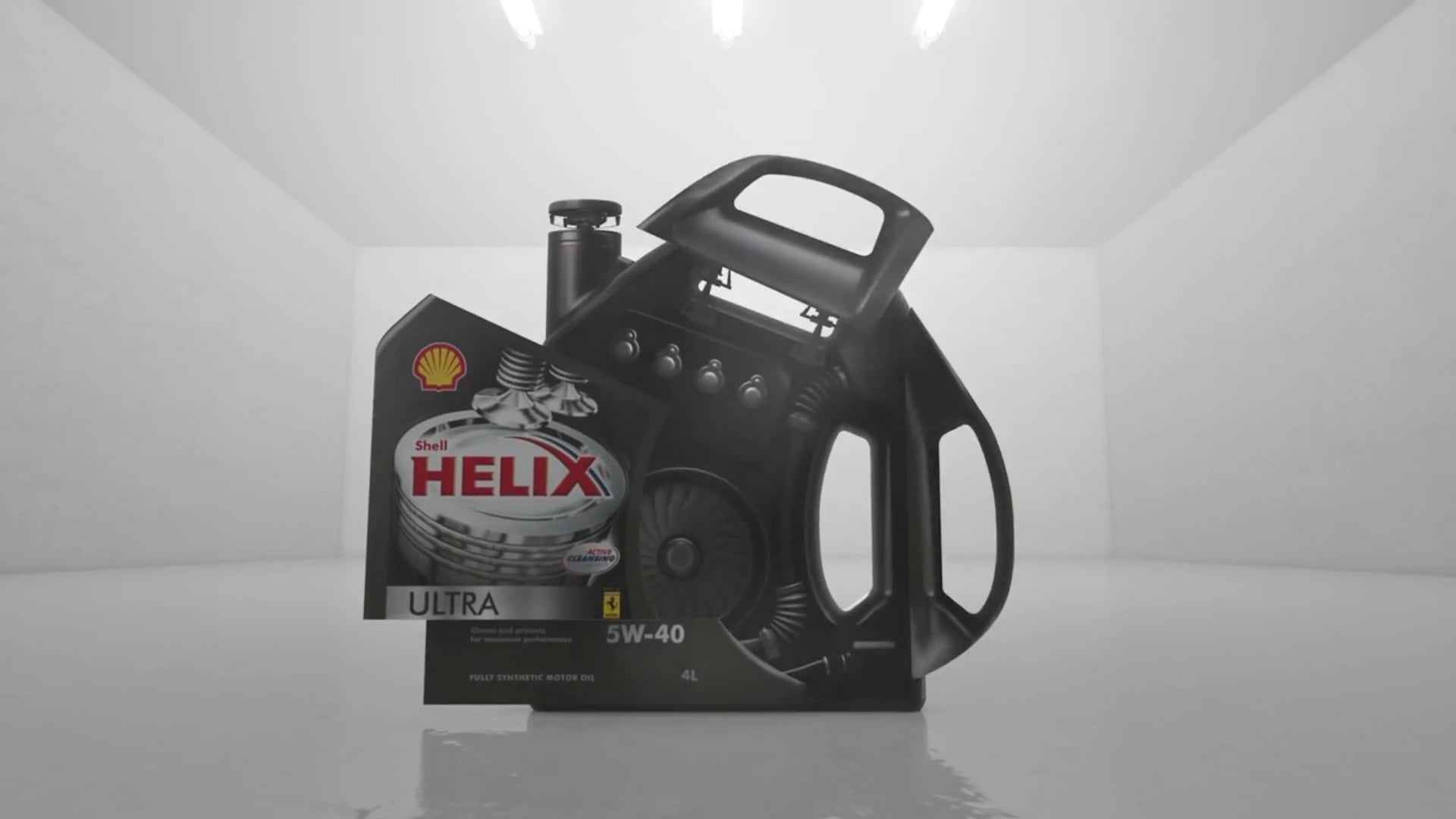 Shell Helix Ultra 'Driven to Extremes'