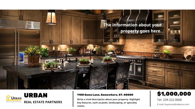 Real Estate  Property Showcase Social Video