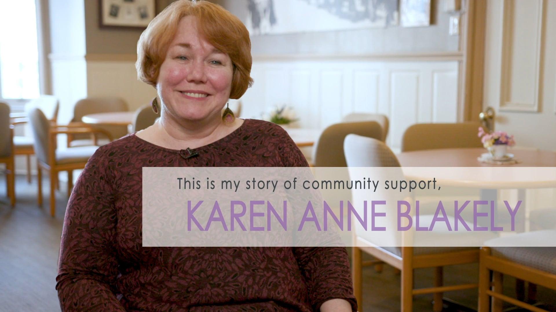 Karen Anne's Story