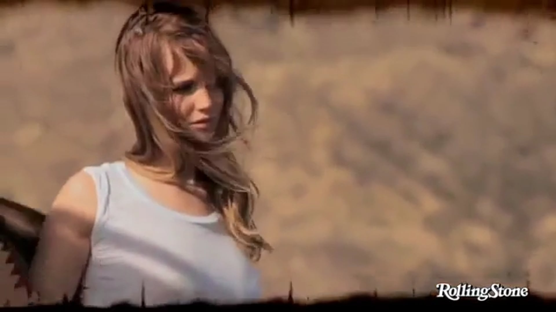 Jennifer Lawrence  'Hunger Games' Rolling Stone BTS Sizzle