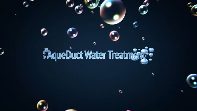 Aqueduct Water Treatment Monthly Service Promo