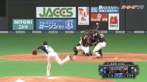 吉田が吉田に投じた大リーグボール1号をマルチアングルで