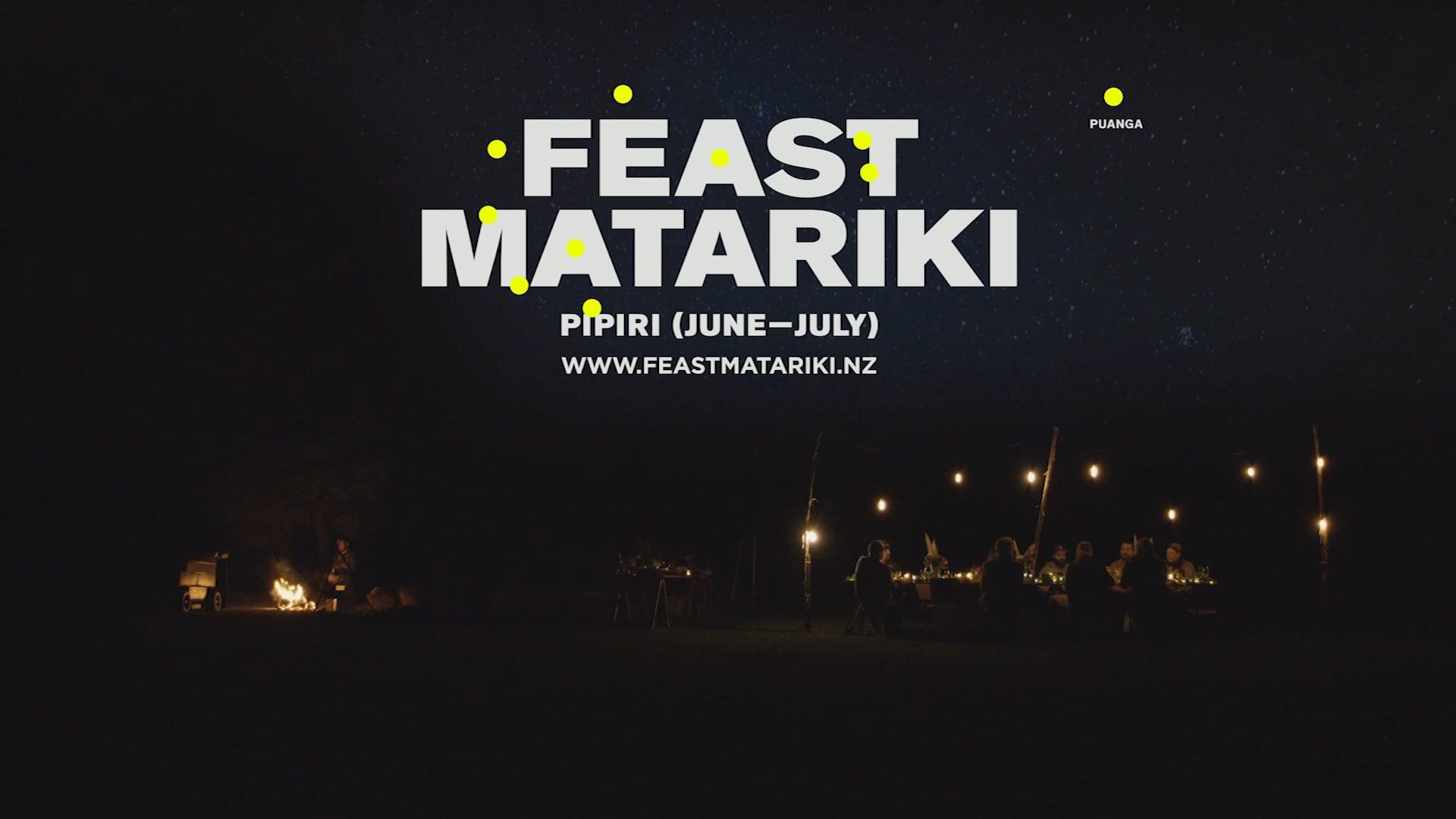 Feast Matariki New Zealand.