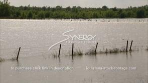 1293 Morganza spillway Mississippi river flood stage flooding