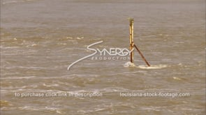 1295 flood waters video of flooding Mississippi River stock footage