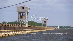 1330 flood gate towers moving to open flood gates