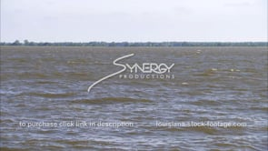 1331 Mississippi River flood waters against Morganza spillway