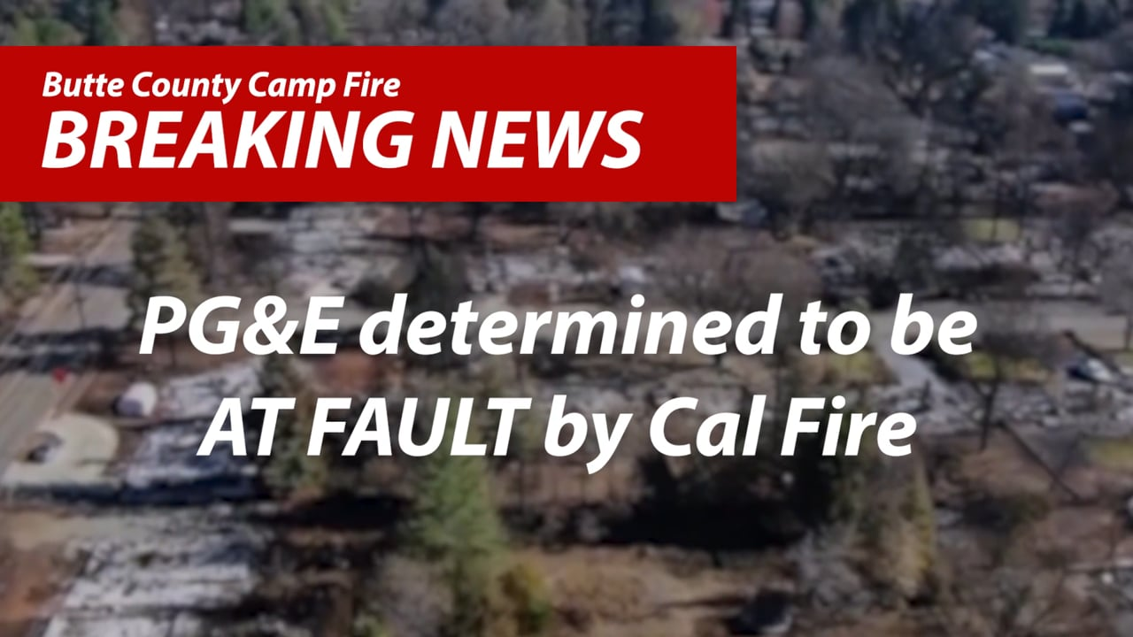 Butte County Camp Fire Breaking News