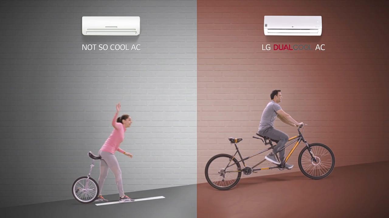 LG Dualcool AC