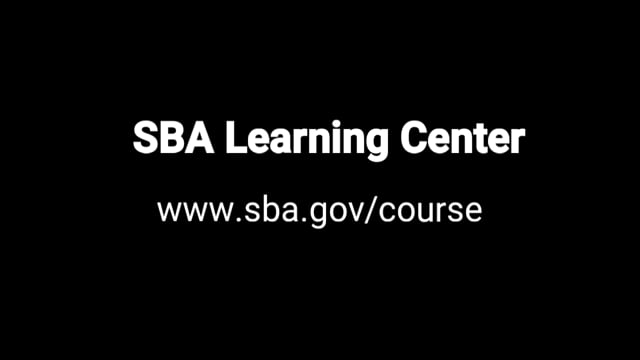 Free Business Courses by the SBA