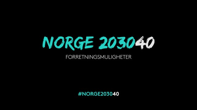 Norge 203040