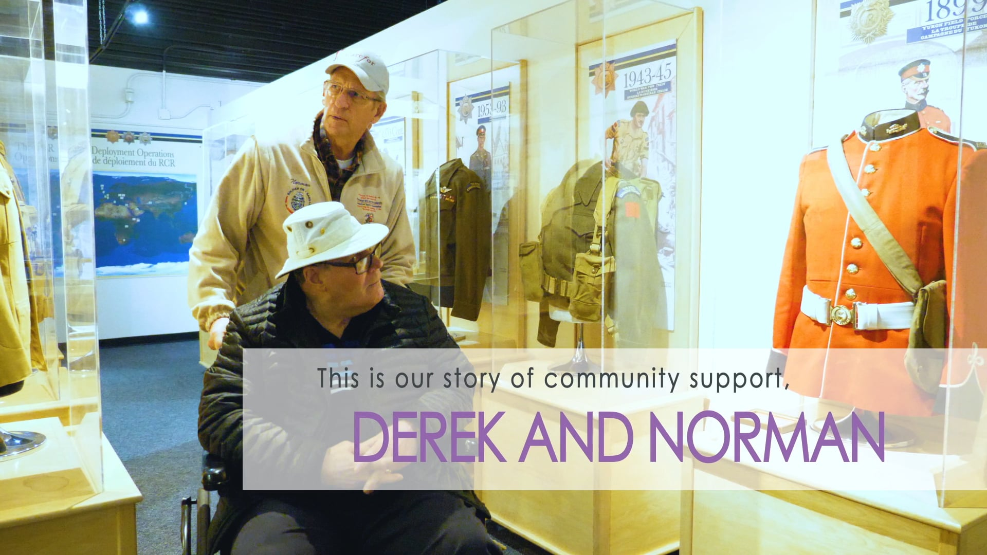 Norman and Derek's Story of Community Support
