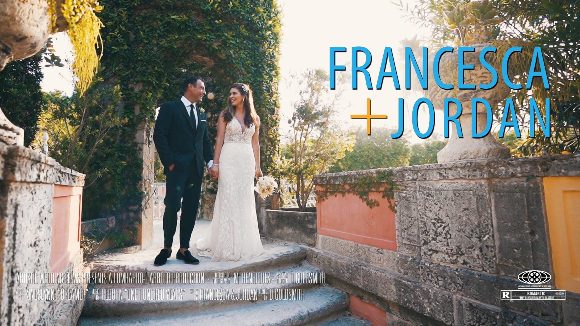 Vizcaya Wedding // Francesca & Jordan's Trailer // Destination Wedding // Miami Wedding // Vizcaya Museum & Gardens