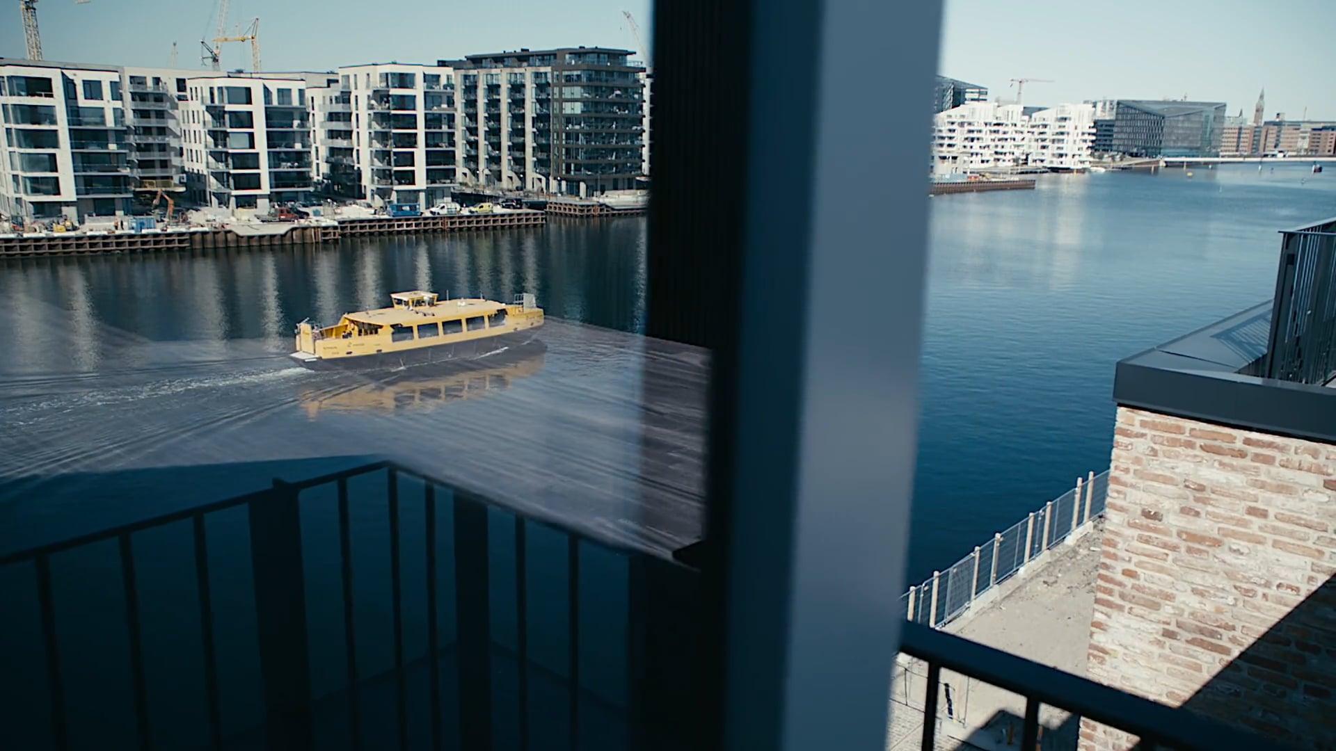 Brandingfilm for Pollux ejendom på Islands Brygge.