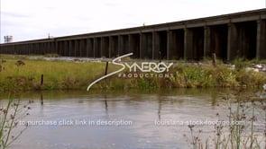 1315 morganza spillway stock footage