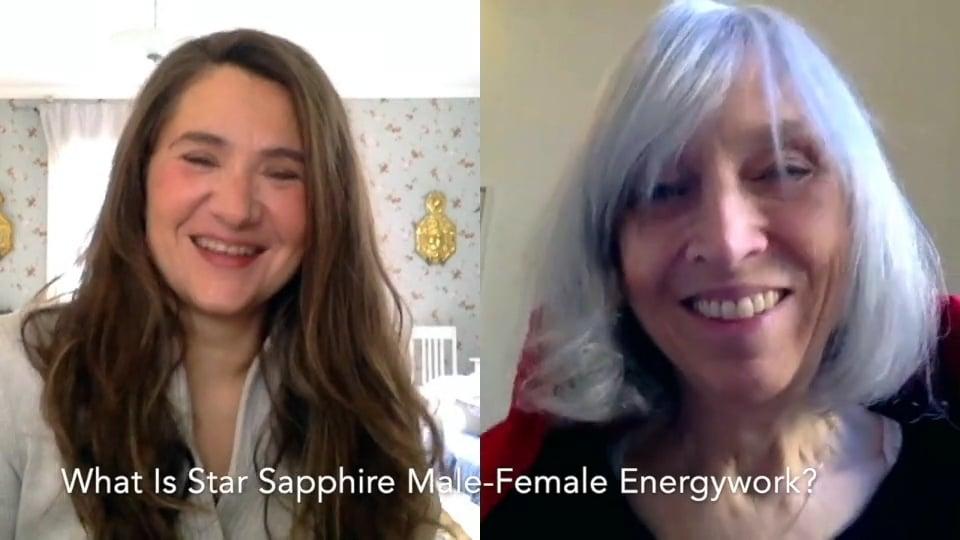 What Is Star Sapphire Male-Female Energywork?