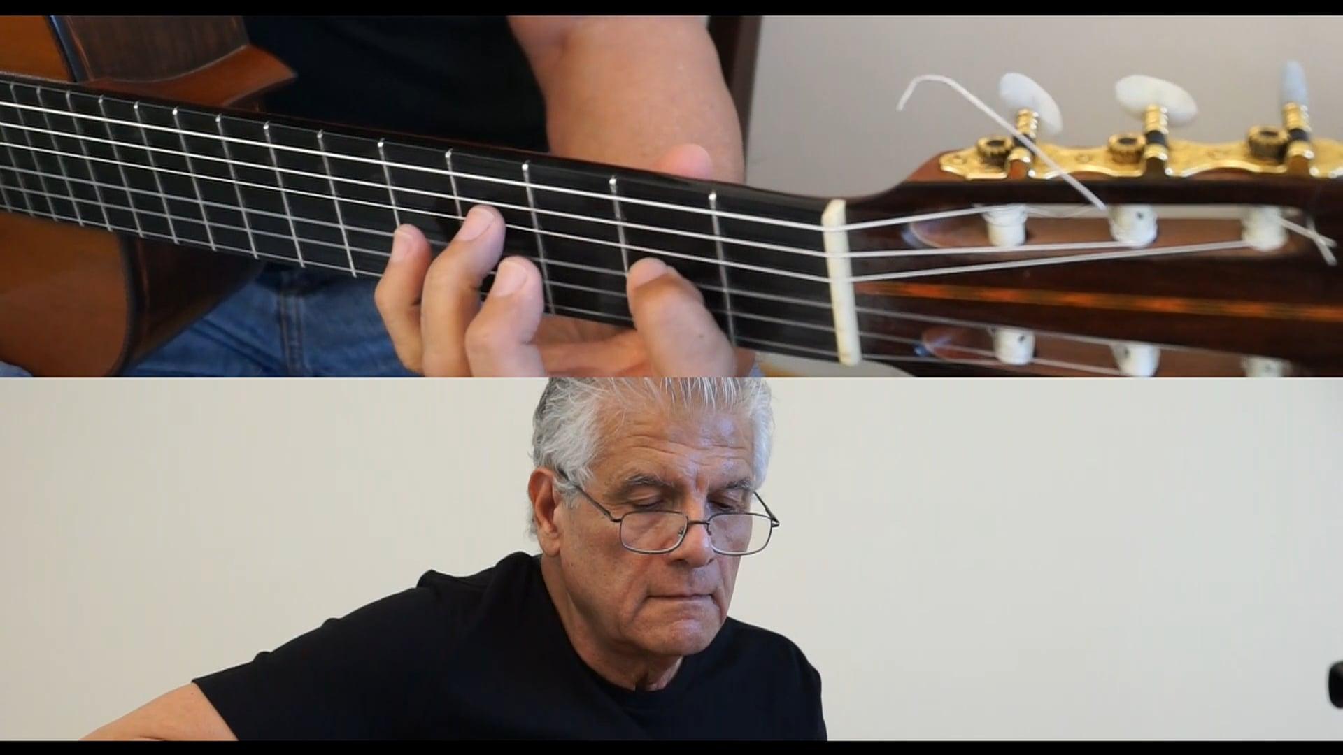 Francisco Burgos Freile, guitarist