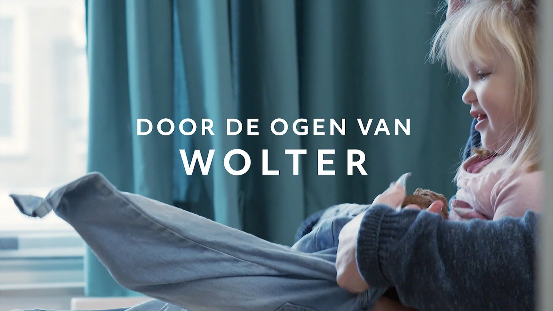 Bartimeus Fonds | 1 minuut trailer 'Door de ogen van Wolter'