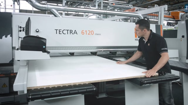 TECTRA beam saw from HOLZ-HER - powerful performance with the latest design