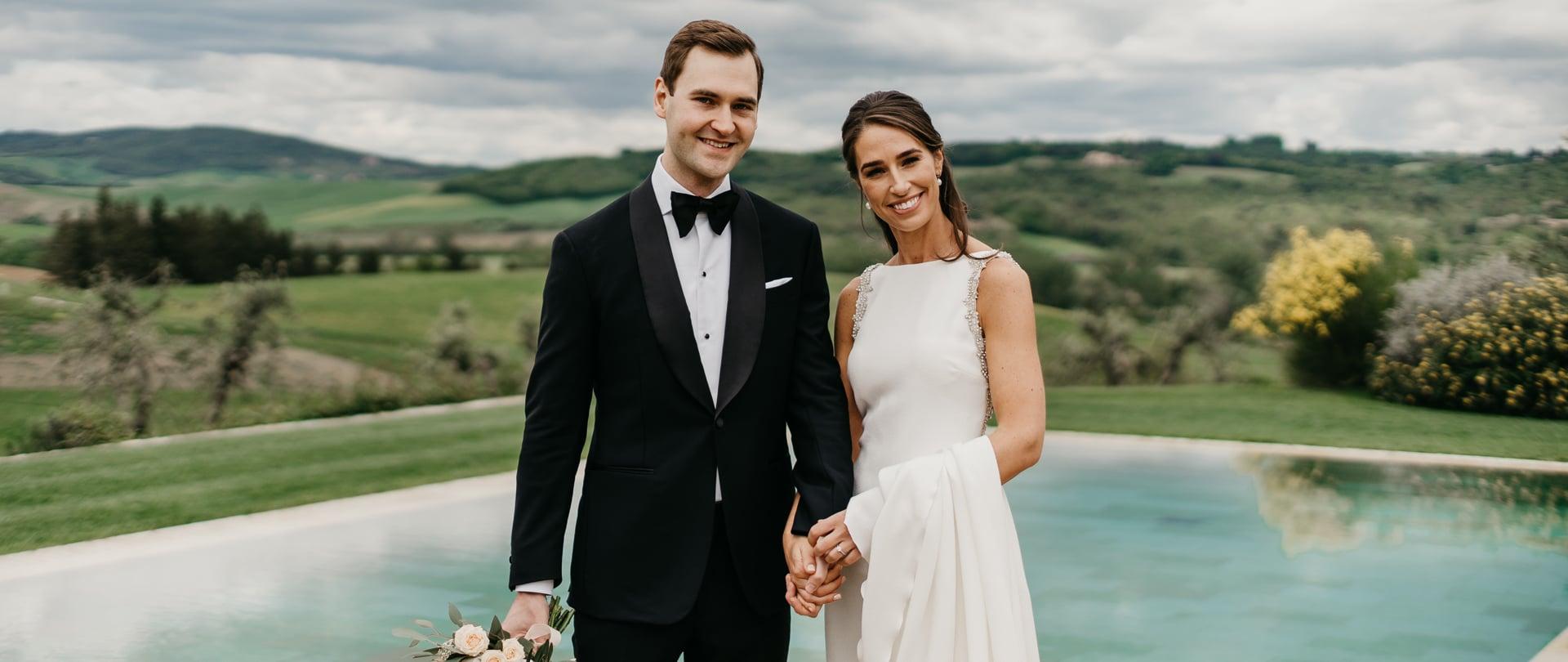 Laura & Myles Wedding Video Filmed at Tuscany, Italy