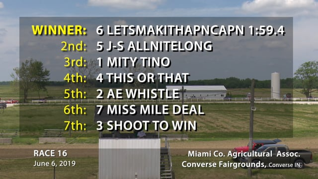 06-06-2019 Race 16 Converse
