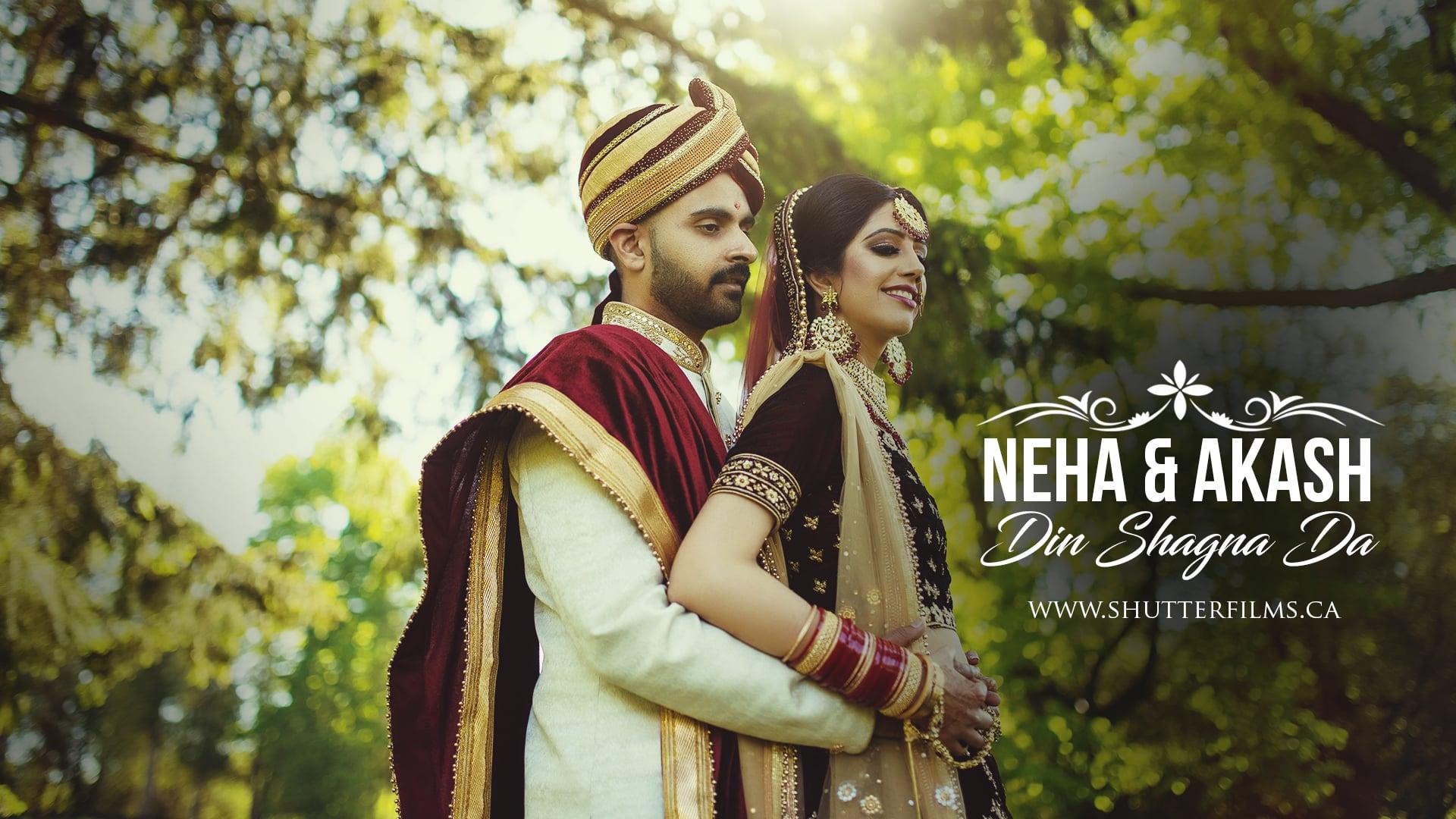 Neha + Akash   Din Shagna Da