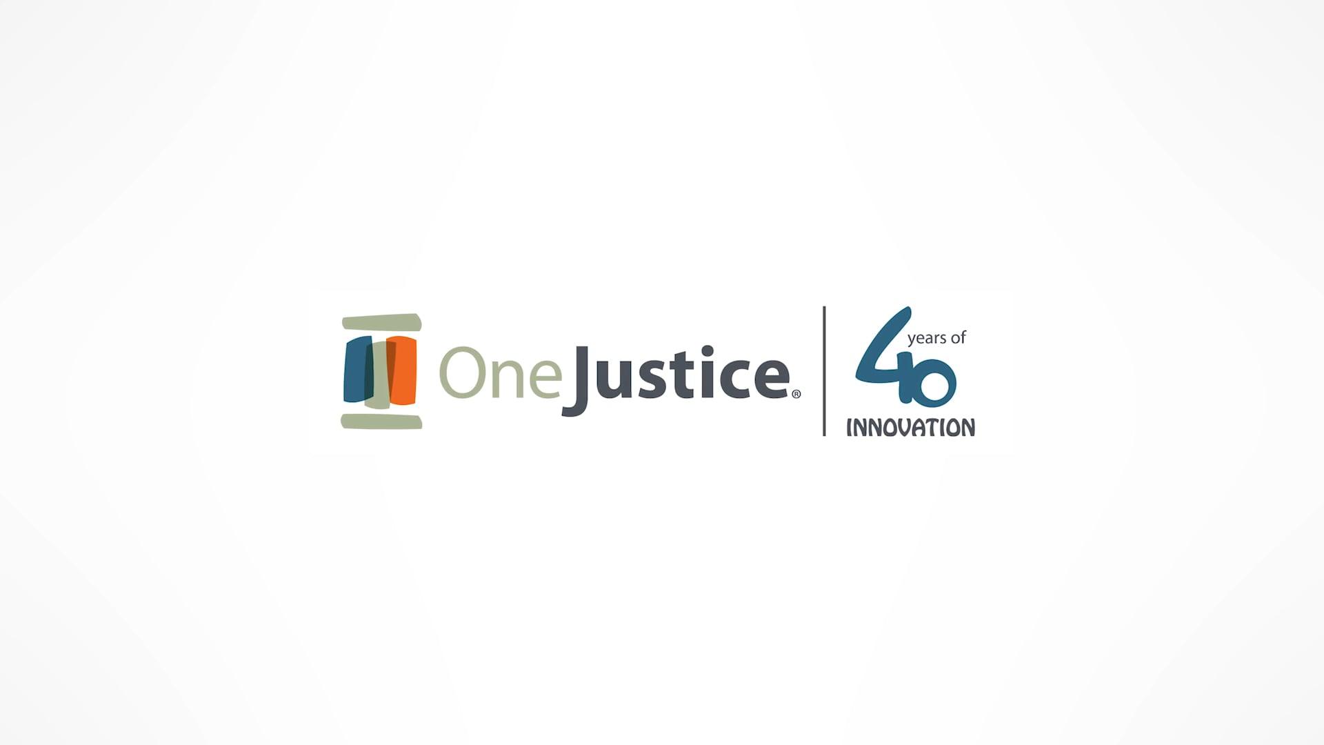 OneJustice - 40th Anniversary