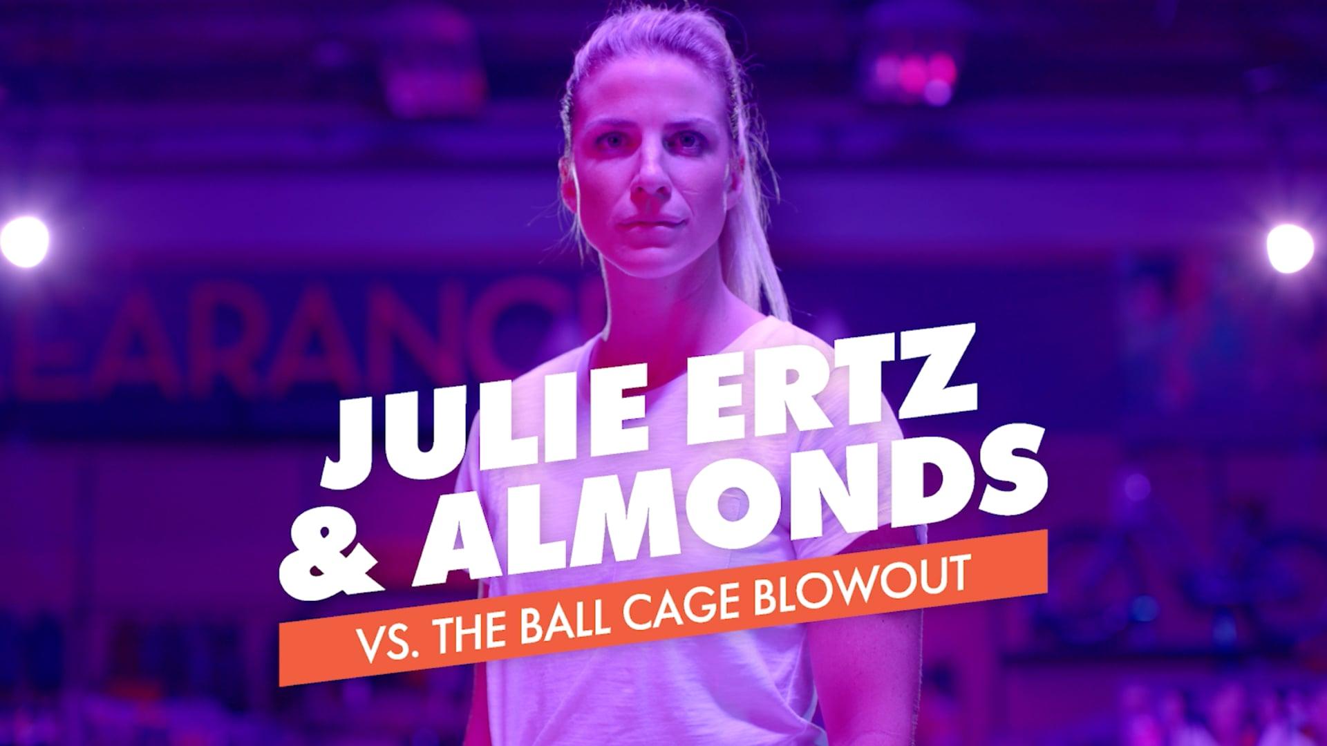 """CA Almonds """"Julie Ertz vs. Ball Cage Blowout"""" :30"""