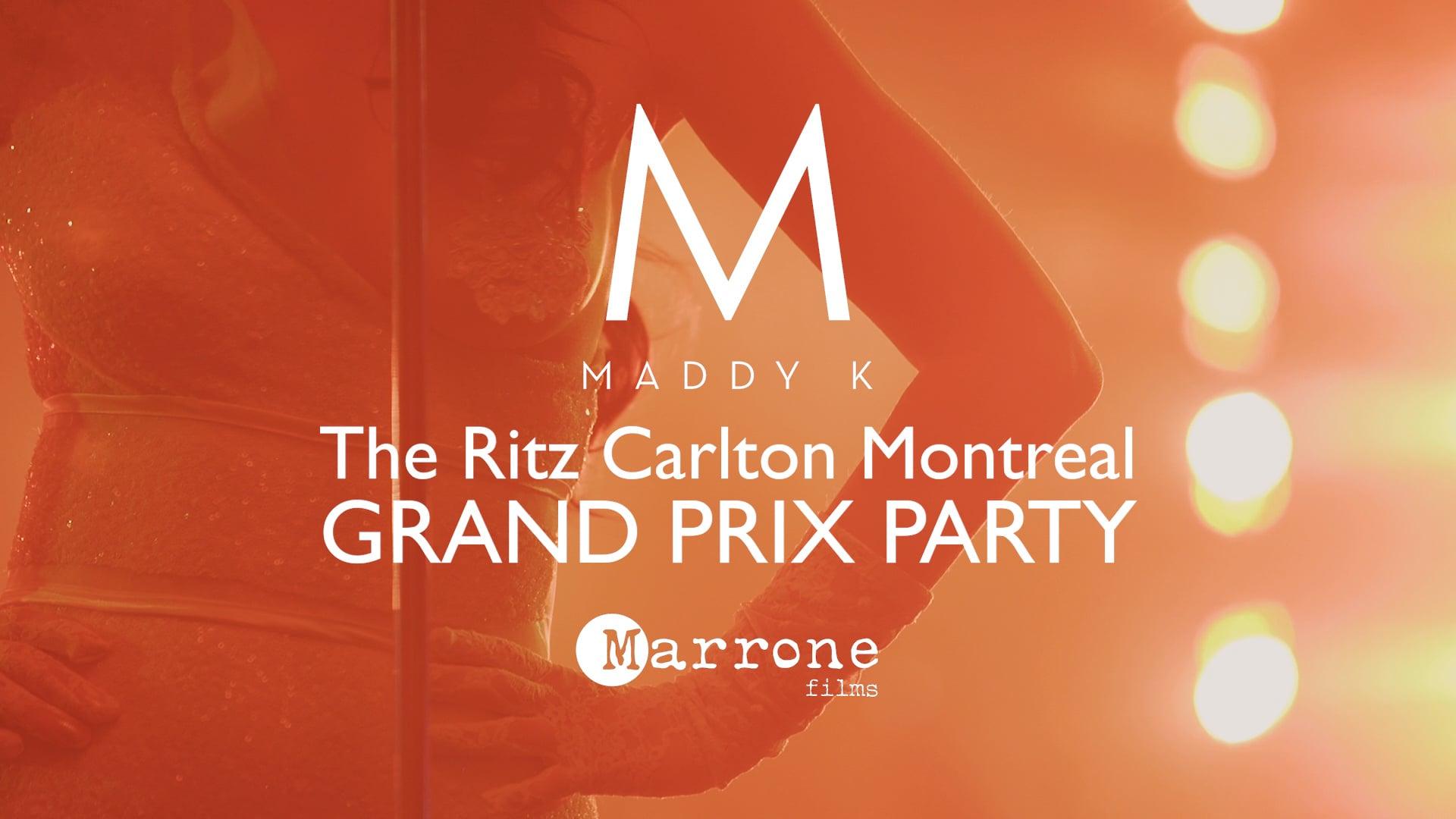 The Ritz Carlton Montreal's Grand Prix Party