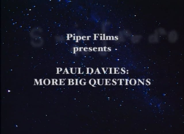 More Big Questions Ep 1