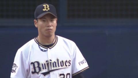 【8回表】バファローズ・近藤 満塁の場面でタイムリーを浴び勝ち越しを許す 2019/6/12 B-D