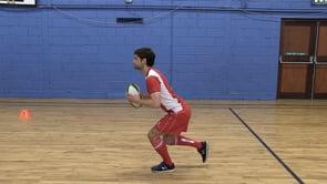 Single Leg Balance with Shallow Squat